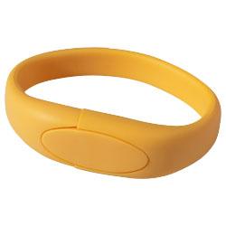 USB Paměť Náramek oranžová