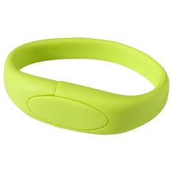 USB Paměť Náramek zelená
