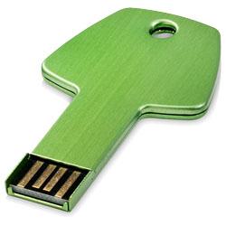 USB Klíč zelená