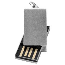 Mini USB paměť šedá