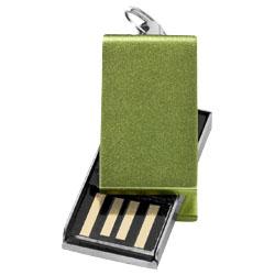 Mini USB paměť zelená