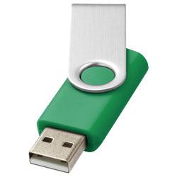 Základní USB rotační zelená
