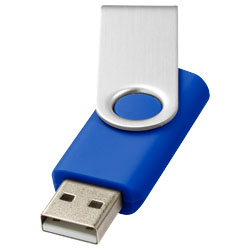 Základní USB rotační světle modrá