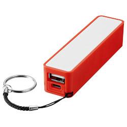 Power banka 2000mAh červená